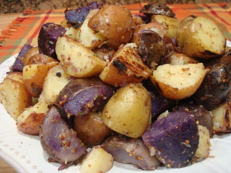 Grilled Tri-Color Potatoes