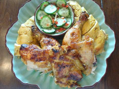 Thai-chicken-with-pickled-c