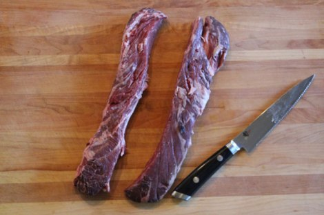 Hanger Steak Trimmed and Se
