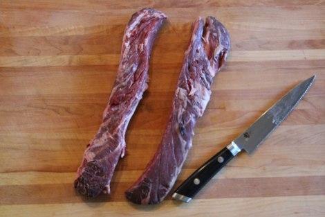 Hanger Steak Trimmed and Se