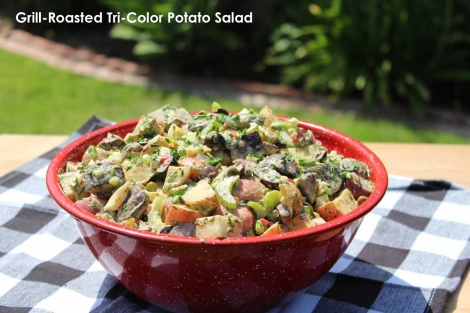 Grill-Roasted Tri-Color Potato Salad