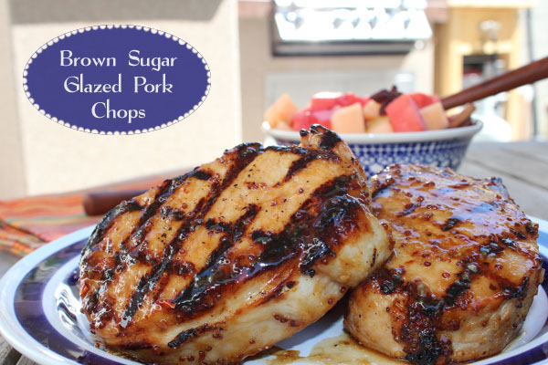 Sage-Brined Pork Chops With Brown Sugar Glaze Recipes — Dishmaps