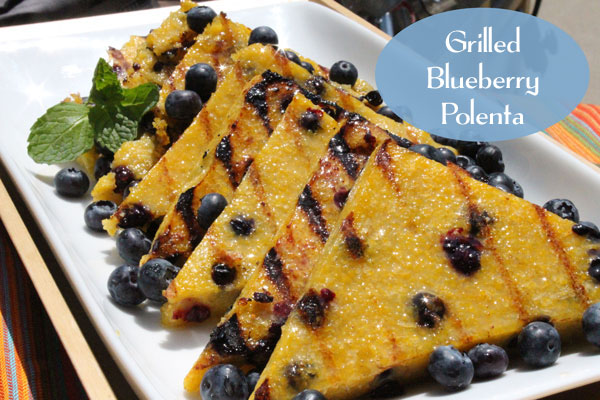 Blueberry Almond Breakfast Polenta Recipe — Dishmaps