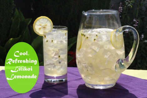 Refreshing Lilikoi Lemonade