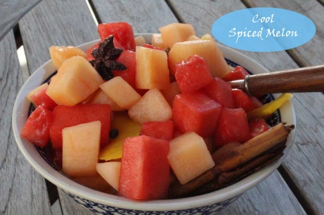 Spiced Melon