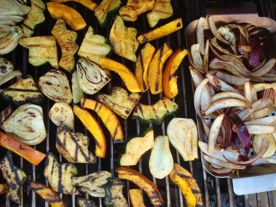 Grilled Winter Squash with Fennel and Warming Spices | Bull BBQ Blog