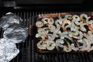 Shrimp-Fajitas-on-grill