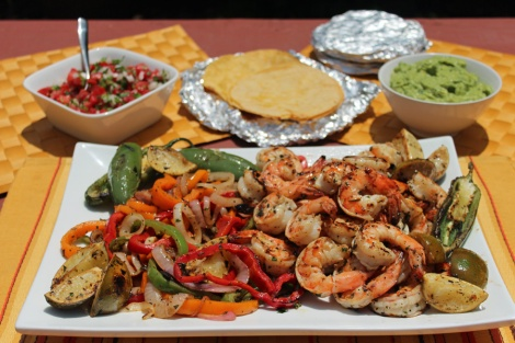 Shrimp-Fajitas