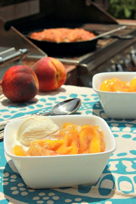 peach cobbler tall