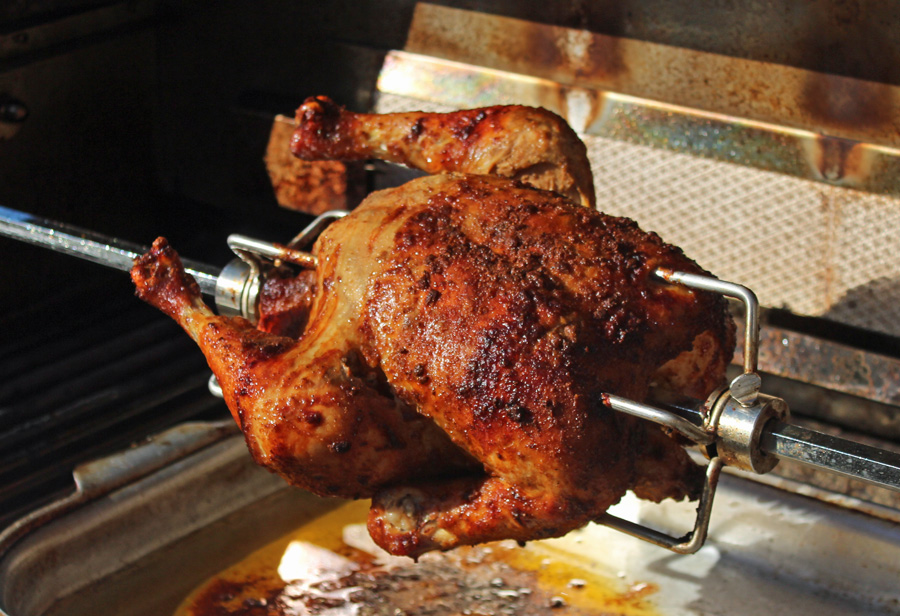 Peruvian-Style Rotisserie Chicken | Grilling & Outdoor Recipes