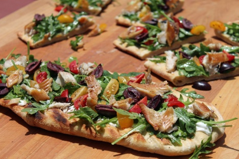 Smoked Trout Flatbread