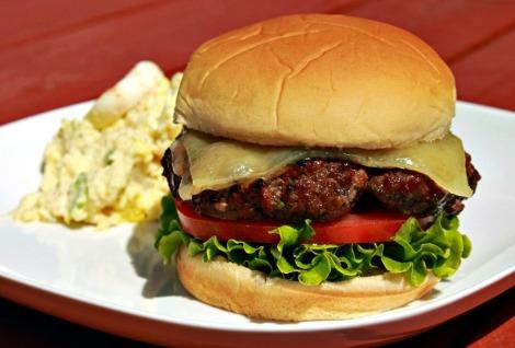 Zinfandel-Burger