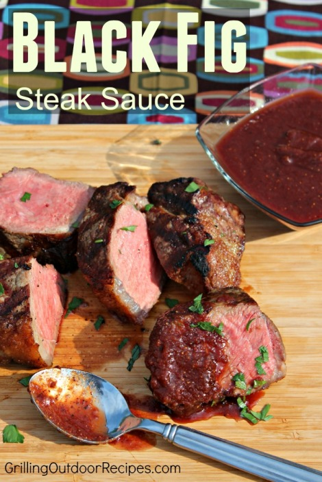 Black FIg Steak Sauce - vert