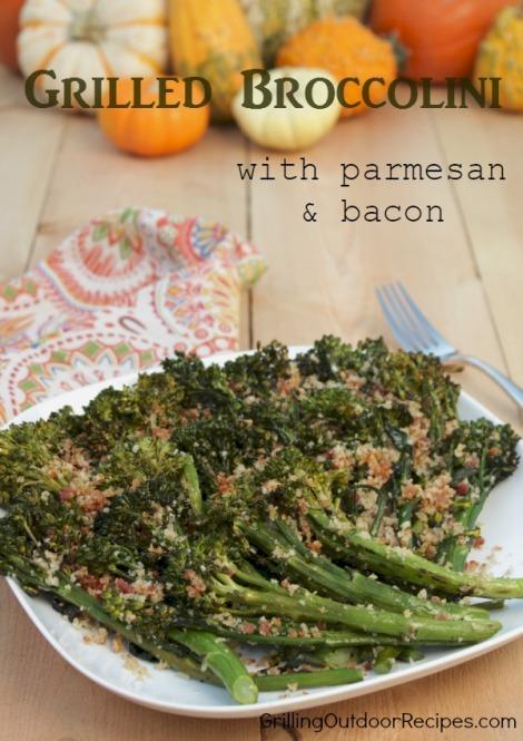 Broccolini au gratin -vert