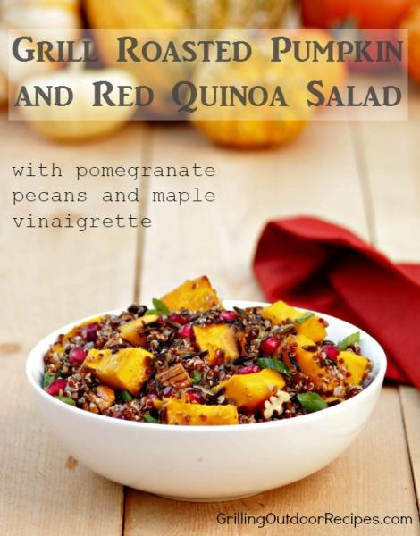 Pumpkin and Quinoa Salad - vert