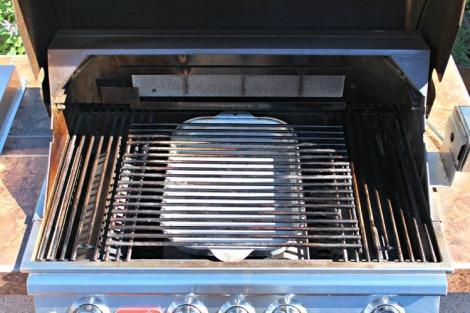 Turkey grill set up