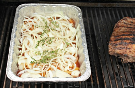 brisket and foil pan