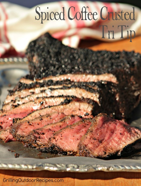 Spiced Coffee Crusted Tri Tip