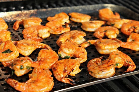 Bangkok Shrimp on the grill