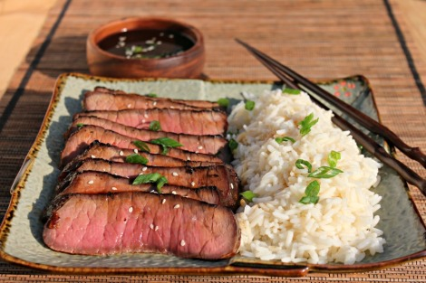 teriyaki top sirloin - horz