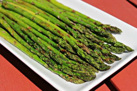 asparagus with garlic and lemon - horz