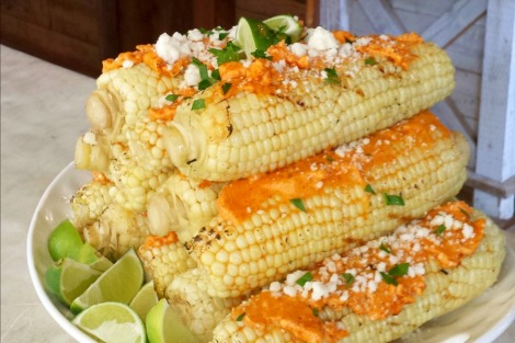 chili lime buttered corn - horz