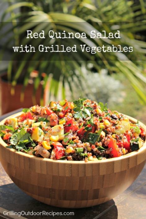 red quinoa salad - vert