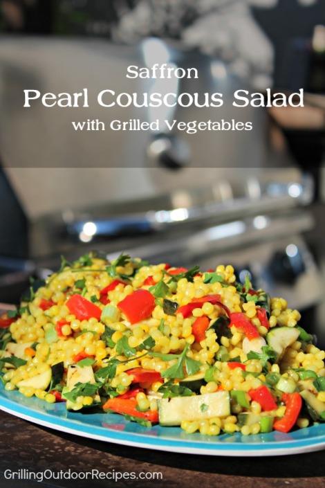Saffron Couscous Salad - pin