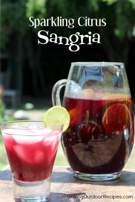 Sparkling Citrus Sangria - pin