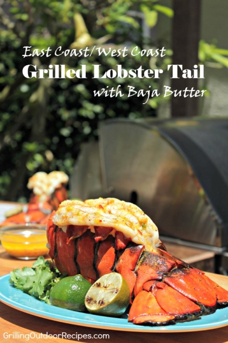 grilled lobster - pin