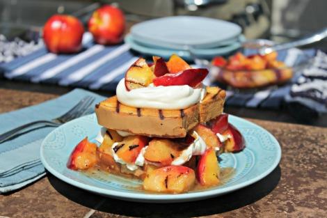 Nectarine shortcake - horz