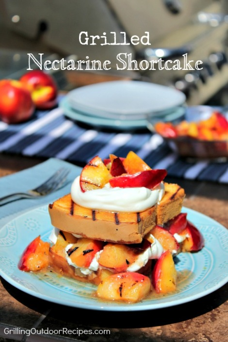 Nectarine shortcake - pin