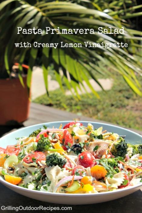 pasta primavera salad - pin