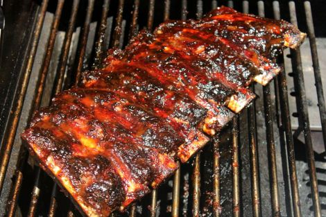 3beef ribs cooked and sauced