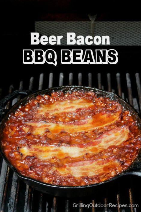 Beer Bacon BBQ Beans - vert