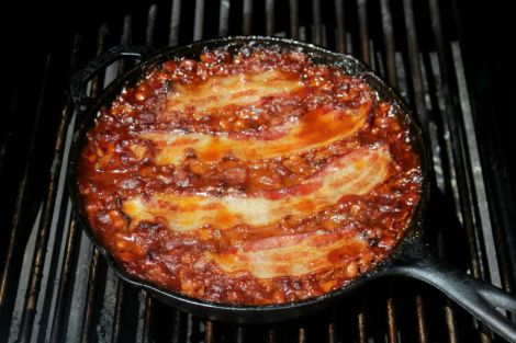 Beer Bacon BBQ Beans