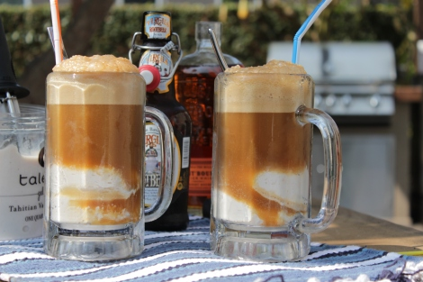 Bourbon Root Beer Floats