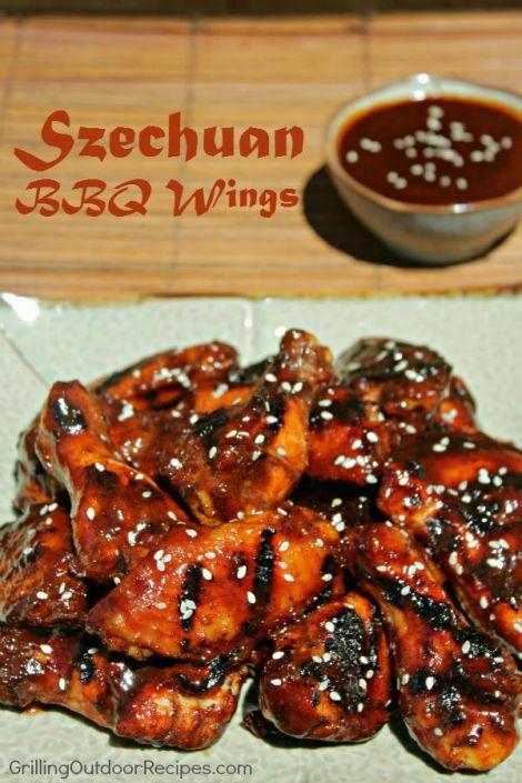 Szechuan BBQ Wings - vert