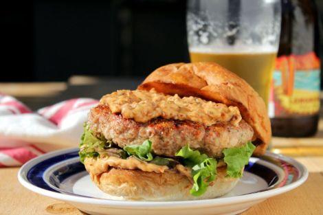 Rosemary Turkey Burgers - horz